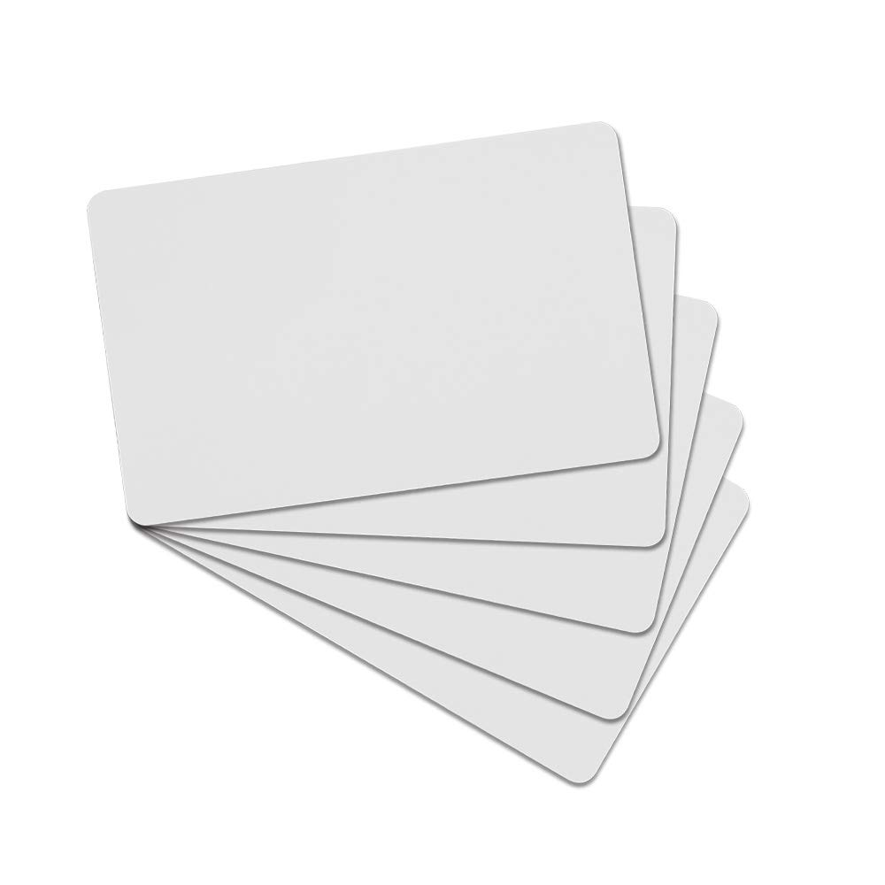 OBO HANDS 125khz Writable Rewritable White Plastic T5577 RFID Card Proximity Door Control Entry Access (100)