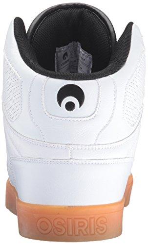 Osiris NYC 83 Vulc Shoes - White / Gum
