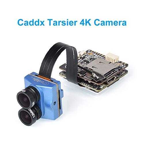 BETAFPV Caddx Tarsier 4K Dual Lens Super WDR Anti-Shake Mini HD FPV Camera DVR Dual Audio OSD for Beta85X 4K RC Racing Drone Quadcopter (Best Lens For Fpv)