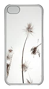Customized iphone 5C PC Transparent Case - Winter Cover