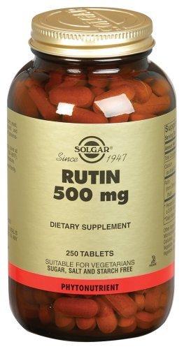 La rutine-500-mg-250-comprimés par Solgar-vitamine-et-Herb