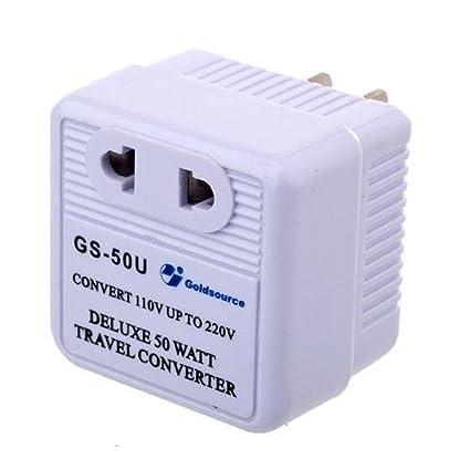 220 Volt Outlet >> Amazon Com Adorama Ac Converter 50w Allows 220 Volt