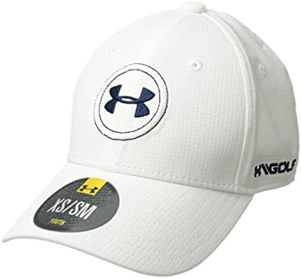 Under Armour Boy UA Official Tour Cap 2.0 Gorra, Niños, Blanco (100)