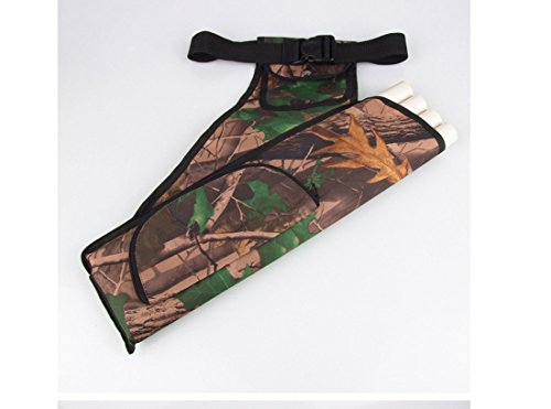 Andesan Portable Outdoor Sport Archery Belt quiver Arrow Bag with 4 Tubes(Camouflage) by Andesan (Image #2)