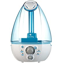 myBaby SoundSpa Ultrasonic Humidifier, Up to 45 Hours Runtime, 1 Gallon Tank, Plays 4 Soothing Sounds, Nightlight, Perfect for Baby, Newborn, Toddler, Clean Tank Technology, MYB-W45