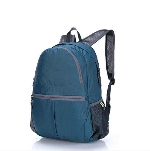 Ruanlei @Vintage CanvasRucksack/Outdoor Laptop-Rucksack/ReisenWandern/Rucksack mit großer KapazitätDie Lounge verfügt über große Schultertasche, Blau blue