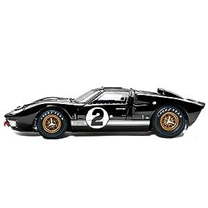 Ford Gt  Mk Ii No Cast Car Replica Black By The Hamilton Collection
