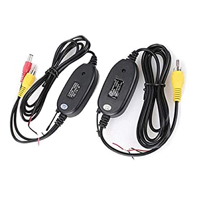 EinCar 2.4Ghz Wireless Video Transmitter and Receiver Kit for Car Rear View Camera Vehicle Monitor Reverse: Electronics