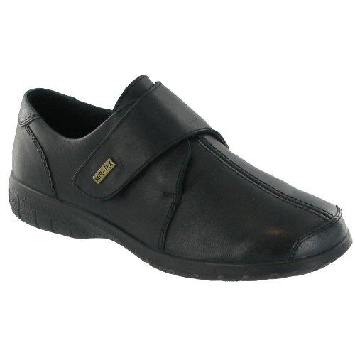Cotswold Cranham Zapatillas / Zapatos De Mujer De Color Negro