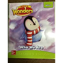 World of Wonders Developing Early Learners Unit 1 WHO WE ARE (Teacher's Edition)