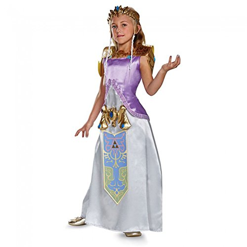Zelda Deluxe Legend of Zelda Nintendo Costume, Large/10-12