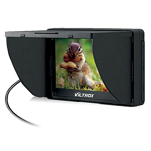 "Price comparison product image Viltrox DC-50 HD Clip-on LCD 5"" Monitor Portable Wide View for Canon Nikon Sony DSLR Camera DV"