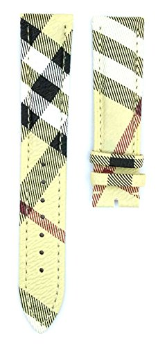 20mm Leather Watch Strap For BU1390 Watches - Replacement Burberry Strap
