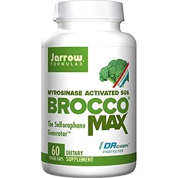Jarrow Formulas BroccoMax, Supports Liver Health, 60 Delayed Veggie Caps
