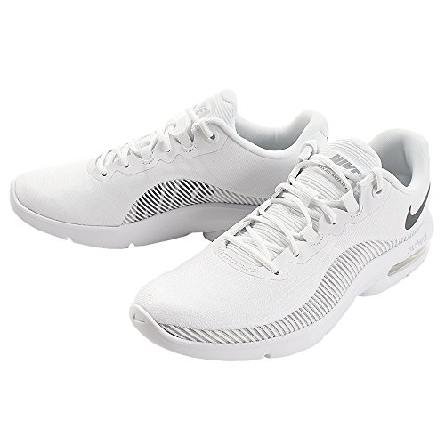 100 Grey Chaussures Multicolore Grey Pure de 2 Platinum Advantage Wolf Cool Compétition White Running Femme WMNS NIKE Max Air 14UUST