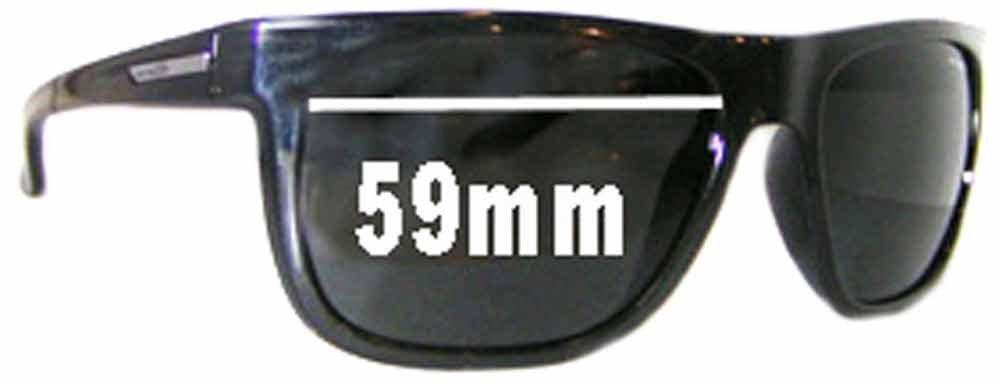 SFX Replacement Sunglass Lenses fits Arnette Arnette AN4143 Fire Drill 59mm Wid
