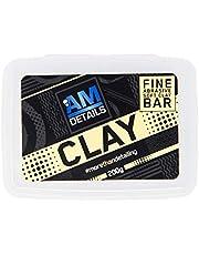 AM Details AM Clay AMCB2 - Barra de arcilla abrasiva suave y fina, 200 g, para el cuidado del coche
