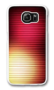 Galaxy S6 Case, S6 Case,Aurora 3 Shock Absorption Bumper Case Protective Slim Fit Hard PC Cover for Samsung Galaxy S6 White