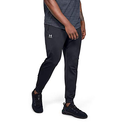 - Under Armour Men's Sportstyle Jogger Pants, Black /White, Medium