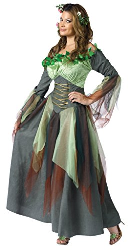 [Funworld Womens Sexy Mother Nature Earth Fairy Fancy Halloween Themed Costume, Plus (16W-20W)] (Cheap Sexy Plus Size Halloween Costumes)