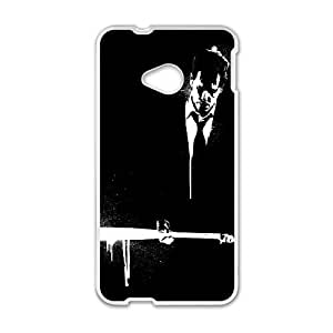 Death Sentence HTC One M7 Cell Phone Case White phone component RT_403090