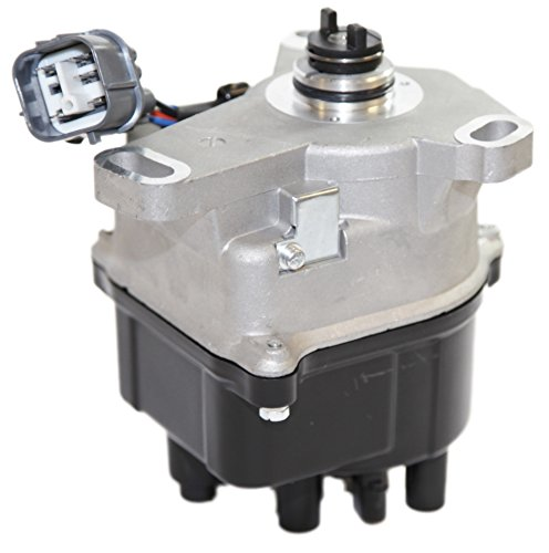 Internal Coil Ignition Distributor for 97-01 Honda Prelude Base/Type SH JDM H22 (INTERNAL COIL); w/VTEC ONLY one Plug with 9 Pin CONNECTORS Fits 2.2L L4 Engines ()