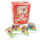 1990 NFL Football Player Cards & Trivia Cards Score
