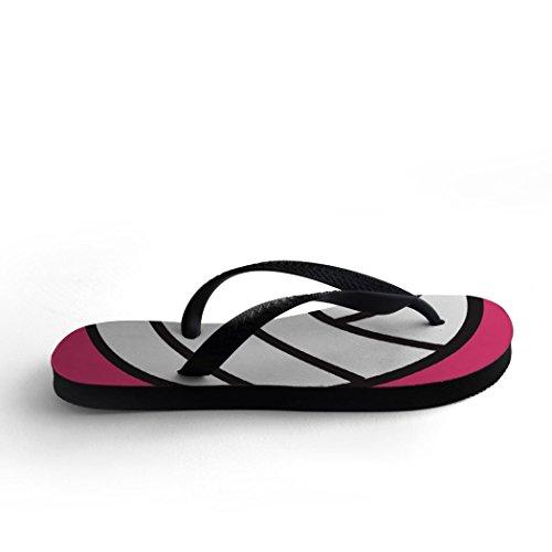 Volleyball Flip Flops Volleyball Rosa