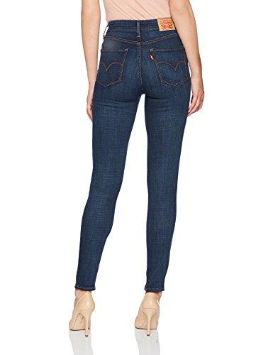 efd0436e2049d6 Levi's Women's 721 High Rise Skinny Jeans, Blue Story, 28 - Import It All
