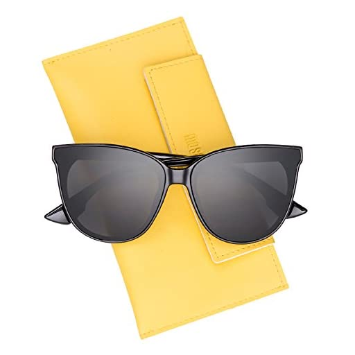 Mosanana Classic Round Cat Eye Sunglasses for Women Trendy Style
