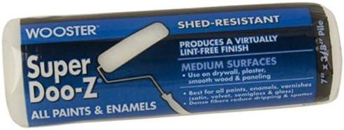 Pack of 6 Wooster Brush R205-18 Super Doo-Z 3//8 Nap Roller Cover
