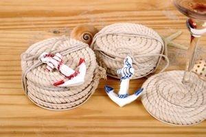 Nautical Rope Coaster Set Of 4 Coasters
