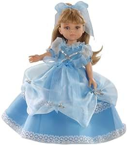 Paola Reina - Carla, muñeca en vestido azul, 32 cm (04570)