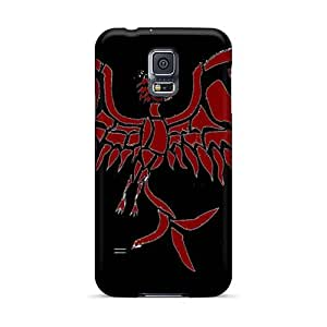 Shockproof Cell-phone Hard Cover For Samsung Galaxy S5 With Allow Personal Design Attractive Breaking Benjamin Band Pattern MarieFrancePitre