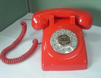 1950 Desk Phone - 1950 Desk phone Red Computers, Electronics, Office Supplies, Computing