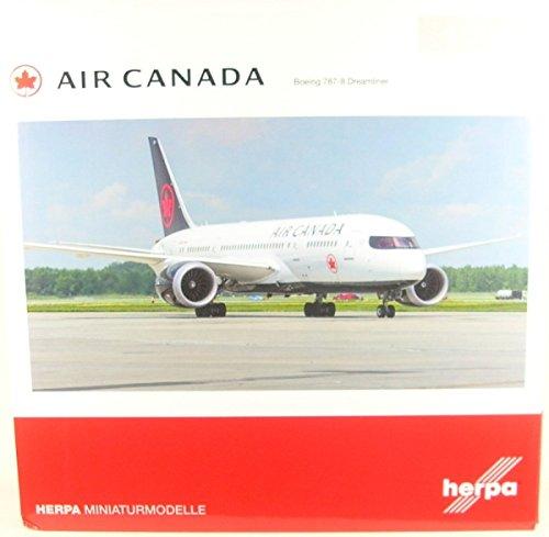 Herpa 558600 New 2017 Farbes-C-GHPQ Fahrzeug Air Air Air Canada Boeing 787-8 Dreamliner 8bd12c