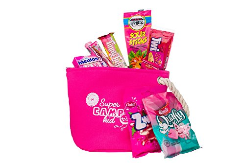 The Nuttery Pink Cosmetic Bag-Camp Counselor Care Packages-Summer Camp Gifts For Girls And Boys-College Care Packages
