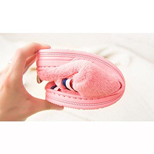 Hausschuhe Baumwolle zu Hause Warme Frau Winter Innen Slip Verdickung Große Größe Hause Schuhe Pattern 1
