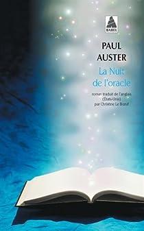 La nuit de l'oracle par Auster