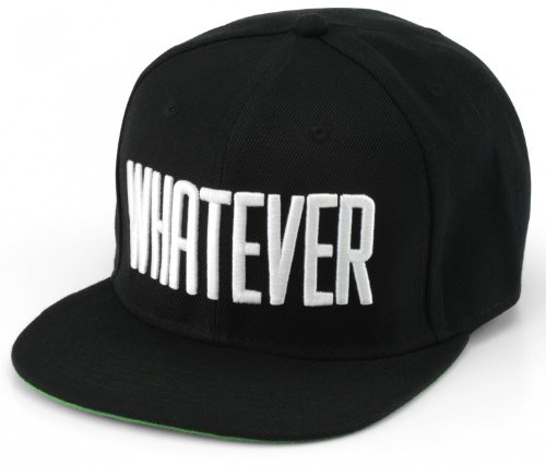 Whatever Cap Whatever Snapback Cappy Caps Mütze Aufschrift Beanies Basecap CRO What Ever
