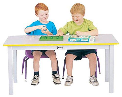 Jonti-Craft 56424JC Multi-Purpose Large Rectangle Table, 24'' High, White by Jonti-Craft