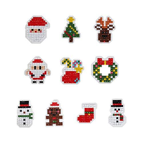 Christmas Diamond Dotz DIY Diamond Pianting Kits for Kids(Christmas Kits)
