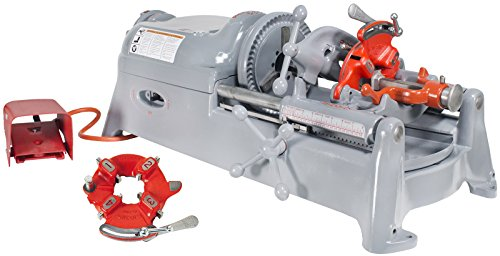 RIDGID 535 V1 Threader with RIDGID Accessories and Extra Universal Die Head (Certified Refurbished) (Universal Die Heads)