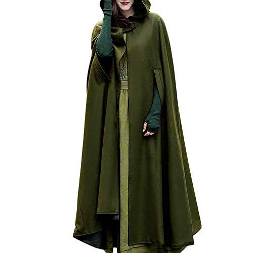 Borje Casual Cape Hooded Cloak Maxi Fancy Cosplay Costume ()