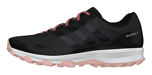 Adidas Duramo 7 Trail W, Zapatillas de Running para Mujer Negro (Neguti / Negbas / Rosvap)