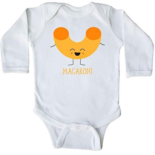 inktastic - Macaroni Costume Long Sleeve Creeper 18 Months White 31d0d -