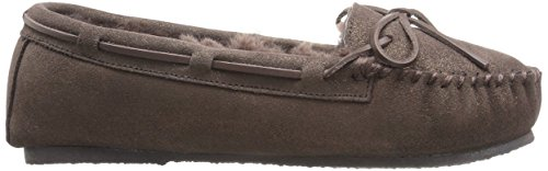 Ara Womens Slipper Bronze Lamfell Metallico