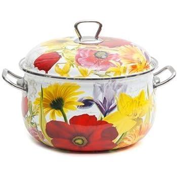 The Pioneer Woman Floral Garden 4-Quart Dutch Oven, Multi-Color