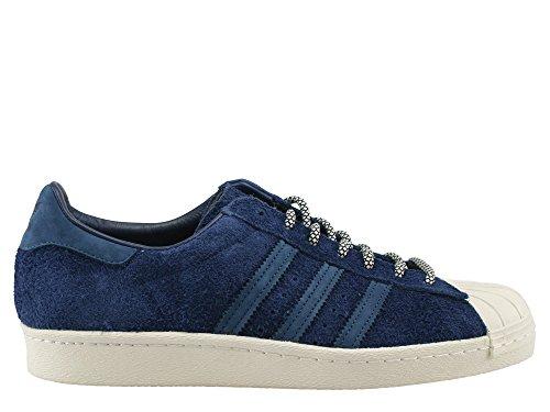 adidas Superstar 80s Schuhe 6,5 navy/blue/chalk