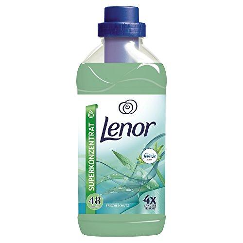 Lenor Frischeschutz Weichspüler, 1.2L, 8er Pack (8 x 48 Waschladungen)